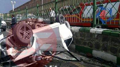 Photo of تصادف مرگبار خواننده مشهور پاپ در تبریز + عکس حادثه