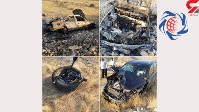 Photo of تصادف فاجعه بار در هرمزگان 3 کودک را زنده زنده در آتش سوزاند + عکس وحشتناک