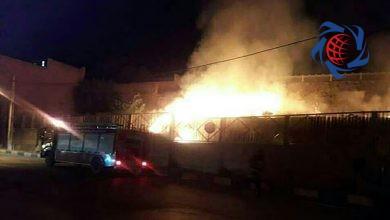 Photo of جزئیات آتش سوزی در محوطه کلیسای مریم مقدس همدان +فیلم