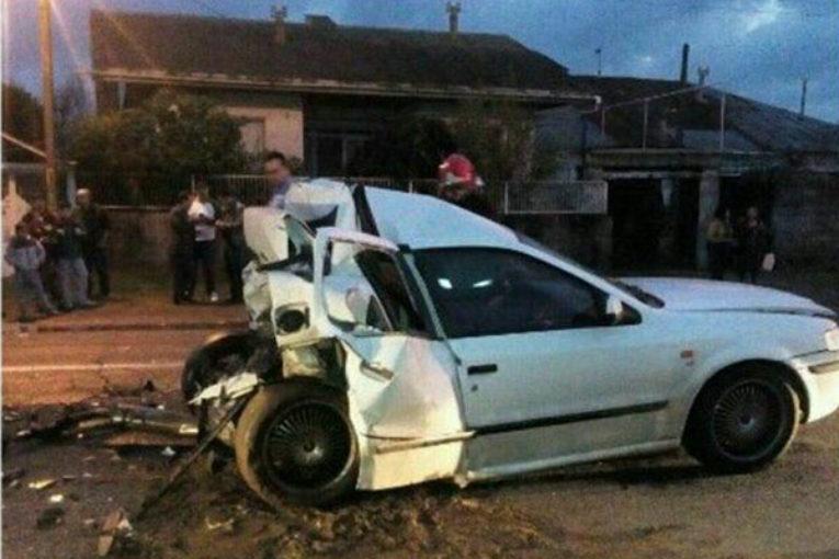 Photo of عدم توجه به جلوی راننده سمند حادثه آفرید