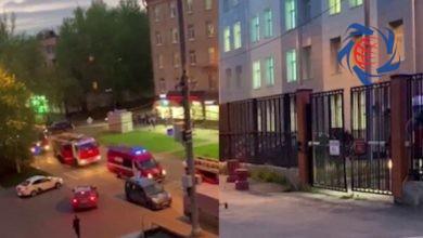 Photo of آتش سوزی در بیمارستان مبتلایان به کرونا در مسکو