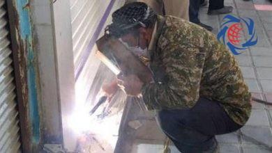 Photo of پلمب مغازه های متخلف با دستگاه جوشکاری در لرستان! + عکس